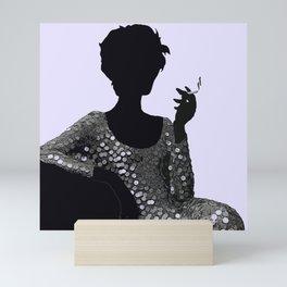 Woman Femme Fatale Luna 1960 Mini Art Print