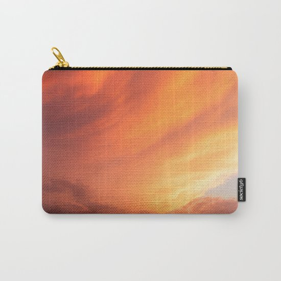 Celestial Fire Clouds Carry-All Pouch