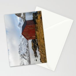 The red shed Stationery Cards