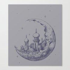 Arabian Crescent Canvas Print