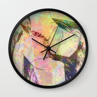 shoes Wall Clocks featuring shoes by Maria Enache
