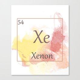 Elementals: Xe Canvas Print