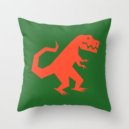 Simplesaurs: T-Rex Throw Pillow