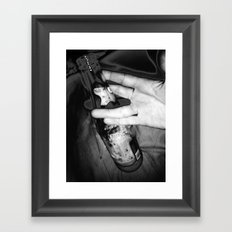 Live Long and Drink Framed Art Print