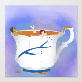RxB Chipped Cup Canvas Print