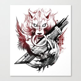 Amano Homage Canvas Print