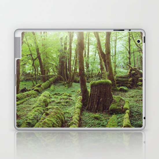 Mossy Forest Laptop & iPad Skin