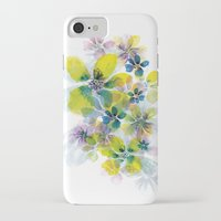 fireworks iPhone & iPod Cases featuring Fireworks by La Rosette Illustration