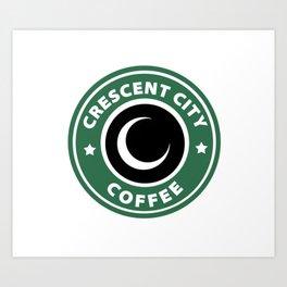 Crescent City Coffee Art Print