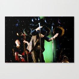 Tom Waits - Make it rain Canvas Print