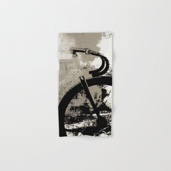 Coal Bike Hand & Bath Towel