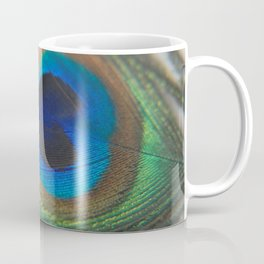 Peacock Eye - Fluid Nature Photography Coffee Mug