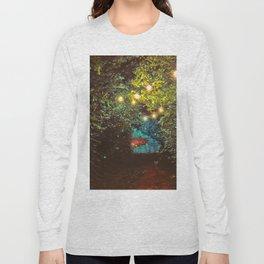 Follow the Lights (Color) Long Sleeve T-shirt