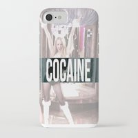 cocaine iPhone & iPod Cases featuring Cocaine by Randall Hansen