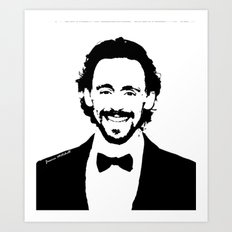 Tom Hiddleston Art Print