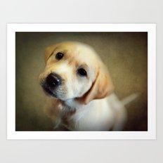 Puppy Love Art Print