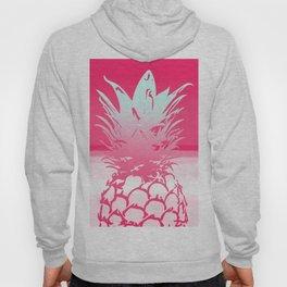 Pink Pineapple Tropical Beach Design Hoody