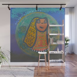 Atlantis Icon / I'm on Fire! Wall Mural
