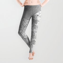 Havana Map Line Leggings
