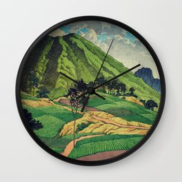 Crossing people's land in Iksey Wall Clock
