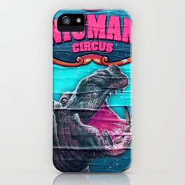Circus Hippo iPhone Case
