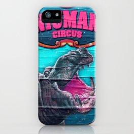 Circus Hippo iPhone Case