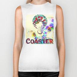 Psychedelic Coaster Biker Tank