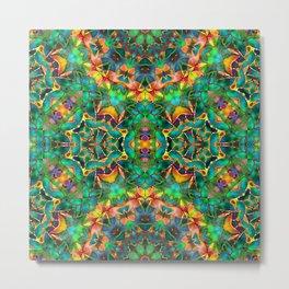 Fractal Floral Abstract G87 Metal Print