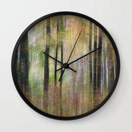 Autumnal Movement Wall Clock