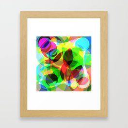 Abstract Leaf Framed Art Print