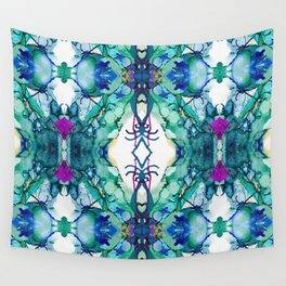 Growth Rework 02 Wall Tapestry