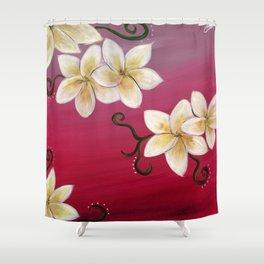 Hawaiian Plumeria 2 Shower Curtain