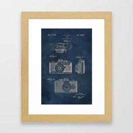 Cazin Camera patent art Framed Art Print