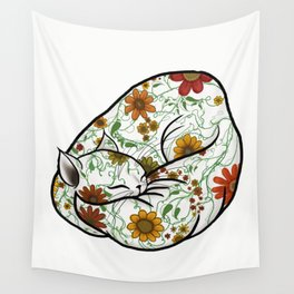 Pretty Kitty - no background Wall Tapestry