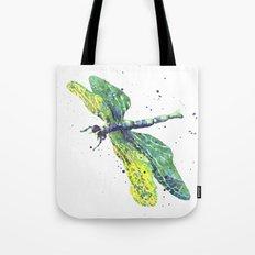 Dragonfly - Green Goddess Tote Bag