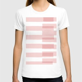 Big Stripes in Pink T-shirt