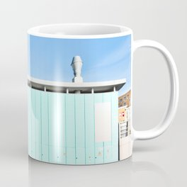 Mood In Blue - House and Architecture Coffee Mug