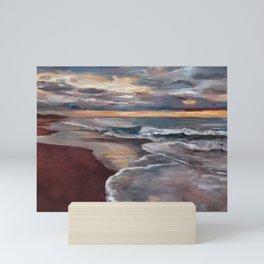 Samoa Beach - Evening Mini Art Print