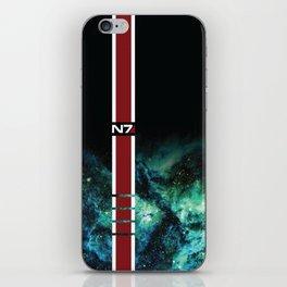 Galaxy Armor Stripe iPhone Skin