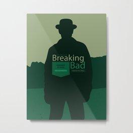 Breaking Bad season finale Metal Print