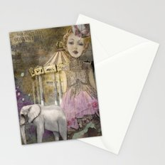 Circus Life Stationery Cards