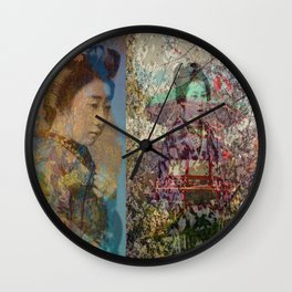 Once Upon A Time in Tokyo II Wall Clock