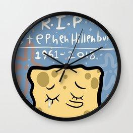 RIP Stephen Wall Clock