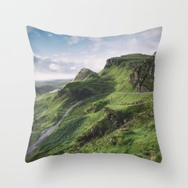 Up in the Clouds IV Throw Pillow