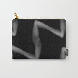 Horror hands, modern  black vibes art print Carry-All Pouch