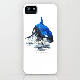You're Never Nothing iPhone Case