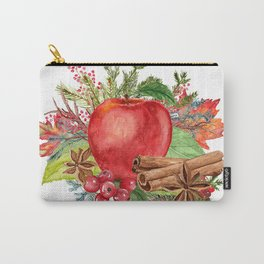 Apple Bouquet Carry-All Pouch