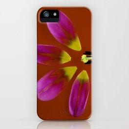 deconstructed tulip iPhone Case