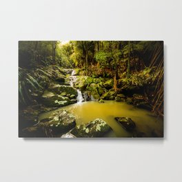 Hidden cascade Metal Print