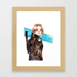 Rogue One: Jyn Erso Framed Art Print